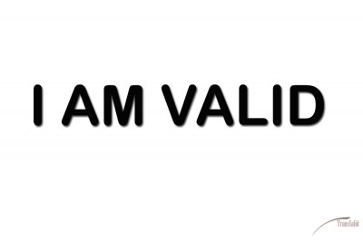 Please share or copy/paste this image with the following tagline #iamvalid